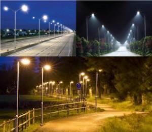 Gatubelysning LED
